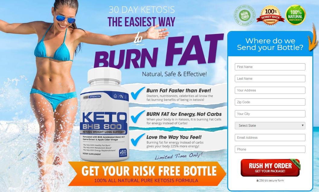 Keto BHB 800 Diet Reviews – Natural Weight Loss Diet Supplement