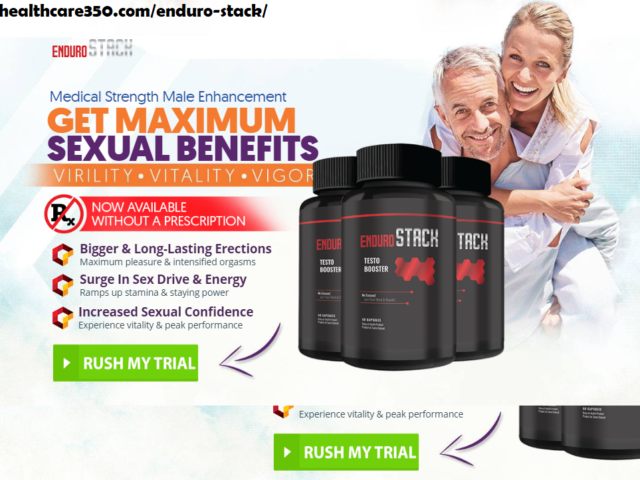 Enduro Stack Male Enhancement Reviews – Enduro Stack Side Effects, Price, Ingredients!
